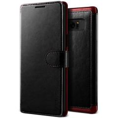 VRS Design Dandy Samsung Galaxy Note 8 Wallet Case Tasche - Schwarz
