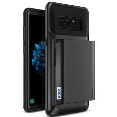 VRS Design Damda Glide Samsung Galaxy Note 8 Hülle in Metallic Schwarz