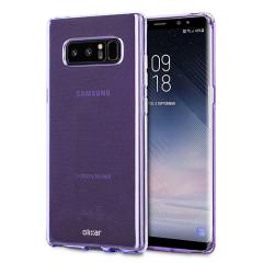 Olixar FlexiShield Case Samsung Galaxy Note 8 Hülle in lila
