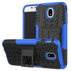 Olixar ArmourDillo Samsung Galaxy J5 2017 Hülle in Blau