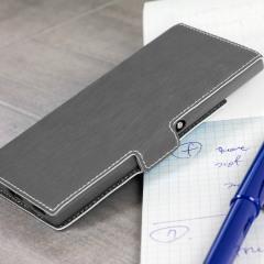 Olixar Low Profile Sony Xperia XA1 Ultra Wallet Case - Grey
