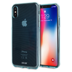 FlexiShield iPhone X Gel Hülle in Blau