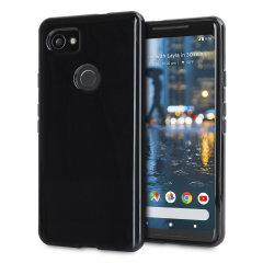 Olixar FlexiShield Google Pixel 2 XL Gel Case - Black