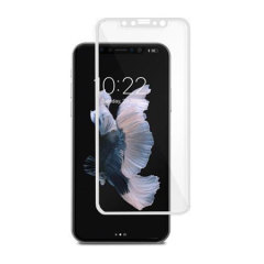 Moshi IonGlass iPhone X Tempered Glass Screen Protector - White