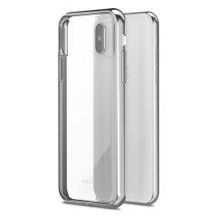 Moshi Vitros iPhone X Schlanke Hülle - Jet Silber