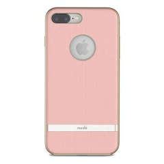 Moshi Vesta iPhone 8 Plus Textile Pattern Case - Blossom Pink