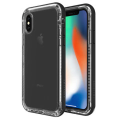 Lifeproof NXT iPhone X Case - Black Crystal