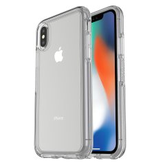 OtterBox Symmetry iPhone X Case - Clear Stardust