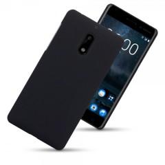 Olixar Nokia 6 Hybrid Rubberised Case - Black