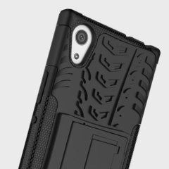 Olixar ArmourDillo Sony Xperia L1 Hülle in Schwarz
