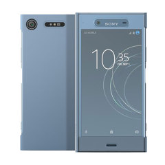 Original Sony Xperia XZ1 Style Tasche Touch Case in Blau