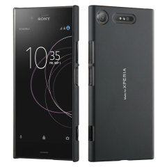 Roxfit Urban MFX Sony Xperia XZ1 Soft Touch Slim Shell Case - Black