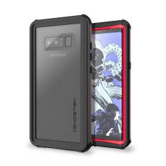 Ghostek Nautical Series Samsung Galaxy Note 8 Waterproof Case - Red