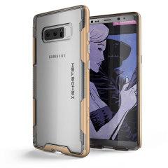 Ghostek Cloak 3 Samsung Galaxy Note 8 Tough Case - Clear / Gold
