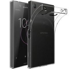 Olixar Ultra-Thin Sony Xperia XZ1 Compact Case - 100% Clear
