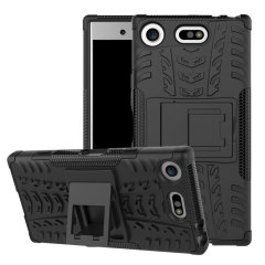 ArmourDillo Hybrid Sony Xperia XZ1 Compact Hülle in Schwarz
