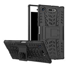 Olixar ArmourDillo Sony Xperia XZ1 Hülle in Schwarz