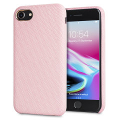 LoveCases Pretty in Pastel iPhone 8 Jeans-Designer-Hülle - Rosa