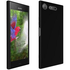 Olixar FlexiShield Sony Xperia XZ1 Gel Case - Solid Black