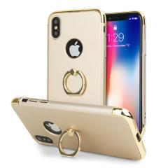 Olixar X-Ring iPhone X Finger Loop Case - Gold