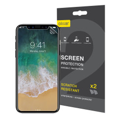Olixar iPhone X Screen Protector 2-in-1 Pack