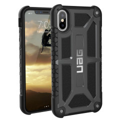 UAG Monarch Premium iPhone X​ Schutzhülle - Graphit