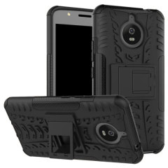 Olixar ArmourDillo Motorola Moto E4 Plus in Schwarz