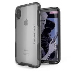 Ghostek Cloak 3 iPhone X starke Hülle - Klar / Schwarz
