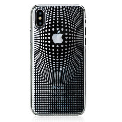 Bling My Thing Warp iPhone X Case - Silver