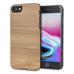 Man&Wood iPhone 8 / 7 Hölzerne Hülle - Cappuccino