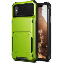 VRS-Design Damda Ordner iPhone X Fall - Lindgrün