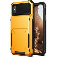VRS-Design Damda Ordner iPhone X Fall - Vulkan Gelb