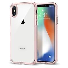 Spigen Ultra Hybrid iPhone 8 Bumper Hülle in Rosen-Kristall
