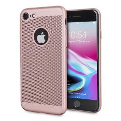 Olixar MeshTex iPhone 8 / 7 Hülle - Rose Gold