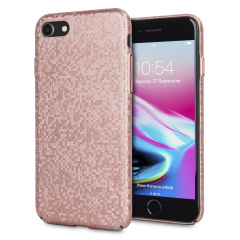 LoveCases Check Yo Self iPhone 8 / 7 Hülle - Rose Gold