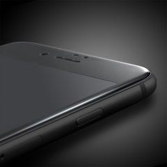 Olixar iPhone 8 Plus Edge to Edge Glass Screen Protector - Black