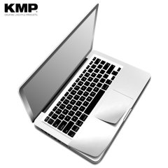 KMP MacBook Pro Retina 15 Full Cover Protective Skin - Silver
