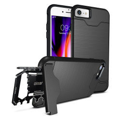 Olixar X-Ranger iPhone 8 / 7 Survival Case - Schwarz