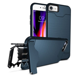Olixar X-Ranger iPhone 8 / 7 Survival Case - Marineblau