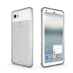 Olixar ExoShield Tough Snap-on Google Pixel 2 XL Case  - Crystal Clear