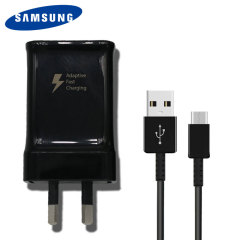 Official Samsung Adaptive Fast USB-C AUS Mains Charger - Black