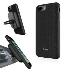 Evutec AERGO Ballistic Nylon iPhone 8 Plus Case & Vent Mount - Black