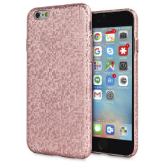 LoveCases Check Yo Self iPhone 6S / 6 Hülle -Rose Gold