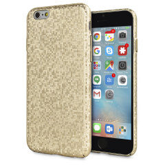 LoveCases Check Yo Self iPhone 6S / 6 Hülle - Gold
