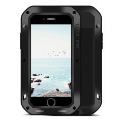 Love Mei Powerful iPhone 8 Protective Case - Black