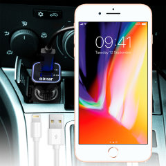 Olixar High Power iPhone 8 / 8 Plus Lightning Car Charger