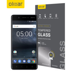 Olixar Nokia 5 Tempered Glass Screen Protector