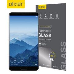 Olixar Huawei Mate 10 Tempered Glas Displayschutz