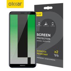 Olixar Huawei Mate 10 Lite Displayschutz 2-in-1 Pack