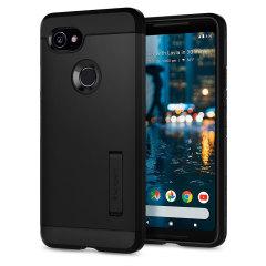 Spigen Slim Armor Google Pixel 2 XL Tough Case - Black
